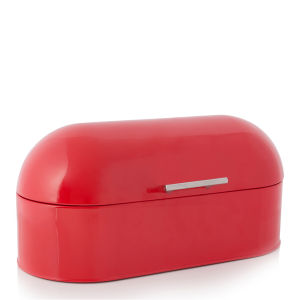Cook In Colour Dome Bread Bin - Red