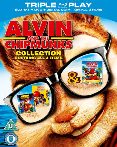 Alvin et les Chipmunks Triple Pack