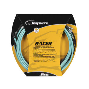 Jagwire Racer Brake And Gear Cable Set - Bianchi Celeste