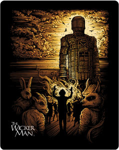 The Wicker Man - The Final Cut - Zavvi Exclusive Limited Edition Steelbook - Double Play (Blu-Ray and DVD) (UK EDITION)