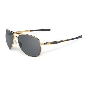 Oakley Men's Plaintiff Polished Sunglasses - Gold
