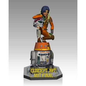 Gentle Giant Star Wars Ezra and Chopper Statue