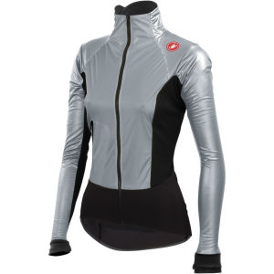 Castelli Women's Cromo Light Jacket - Silver/Black