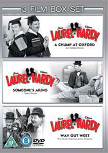 Laurel and Hardy Vols 1-3 - Chump At Oxford / Someones Ailing / Way Out West