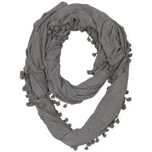Codello Military Vintage Pom Pom loop scarf