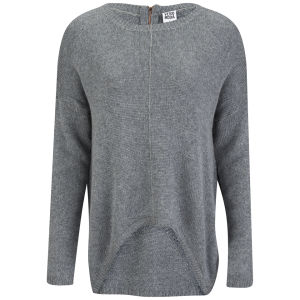 Vero Moda Women's Macro Jumper - Grey