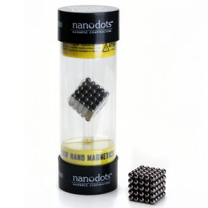 Nanodots Magnete Schwarz - 125 Stück