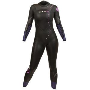 Zone3 Women's Aspire Wetsuit - Black/Blue