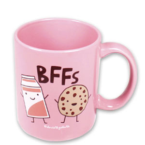 BFFs Tasse von David & Goliath, rosa