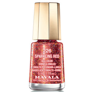 MAVALA SPARKLING RED NAIL COLOUR (5ML)