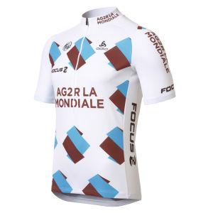 AG2R La Mondiale Team Half Zipp SS Jersey - 2013