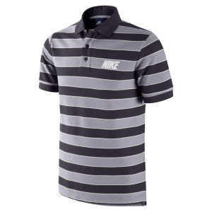 Nike Men's Matchup Pique Polo Shirt - Black