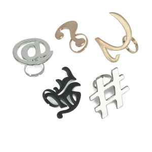 Cheap Monday Symbol Rings - Multi
