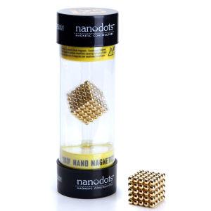 Nanodots Magnetic Constructors Gold - 125 Dots