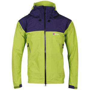 Berghaus Men's Velum Shell GORE-TEX® Jacket - Green/Dark Purple