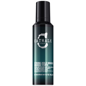 Mousse texturisante TIGI CATWALK CURLESQUE STRONG (200ML)