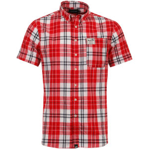 Boxfresh Men's Capito Shirt - Large Red Check