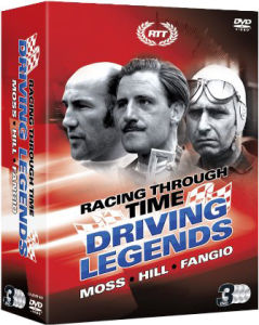 Racing Through Time: Grand Prix Legends, Moss, Hill, Fangio