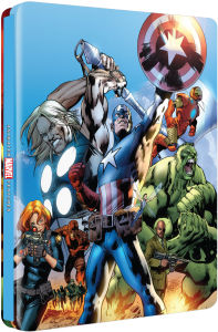 The Ultimate Avengers Collection - Zavvi Exclusive Limited Edition Steelbook (Limited Print Run) (UK EDITION)