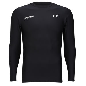 Under Armour® miesten Evo Coldgear Crew Top - Musta