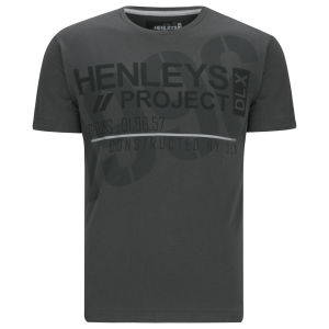 Henleys Timber T-Shirt - Charcoal