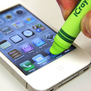 iCrayon Touch Stylus for Mobile Devices - Green