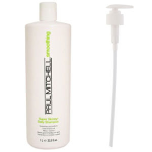 Paul Mitchell Super Skinny Daily Shampoo (1000ml) with Pump (Bundle)