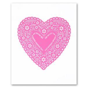 Bianca Hall Unframed Print - Pink