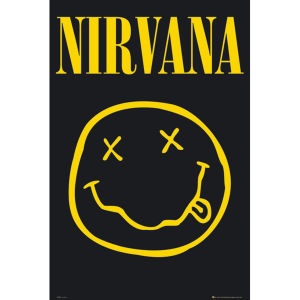 Nirvana Smiley - Maxi Poster - 61 x 91.5cm