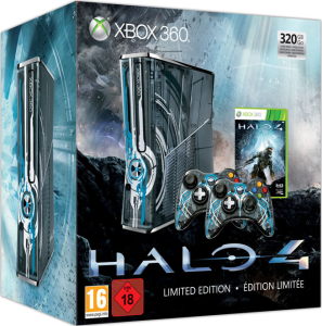 Halo 4 Xbox 360 320GB Console: Limited Edition