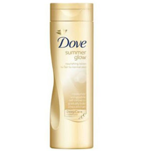 Dove Summer Glow Body Lotion 250ml (Individual)