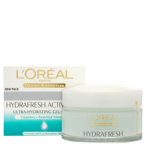 L'Oreal Paris Dermo-Expertise Triple Active Fresh Ultra-Hydrating Gel Cream - Normal & Combination Skin (50ml)