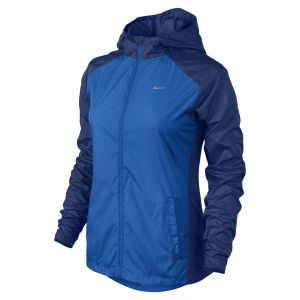 Nike Women's Racer Woven Jacket - Cobalt Blue