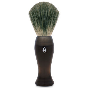 eShave Long Shave Brush Plastic Handle Smoke