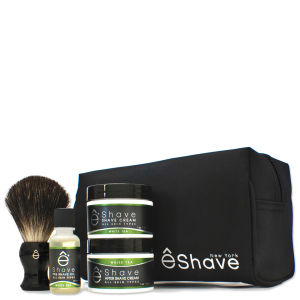 eShave Start Up Kit White Tea