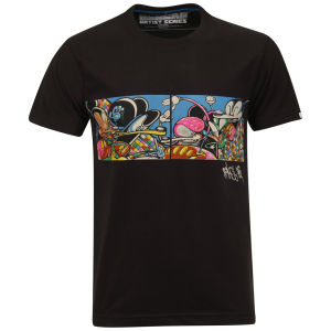 Addict Men's Rime Abstract T-Shirt - Black