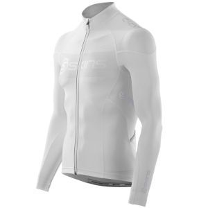 Skins C400 Men's Compression LS FZ Cycling Jersey