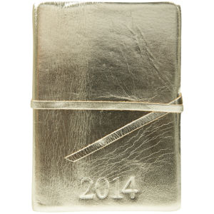 Barbara Wiggins Diary 2014 - Metallic Gold