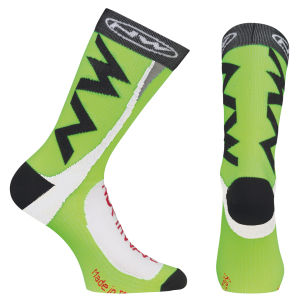 Northwave Extreme Tech Socks - Green Fluo