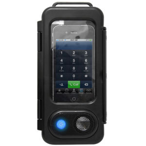Splashproof Smartphone Speaker Case