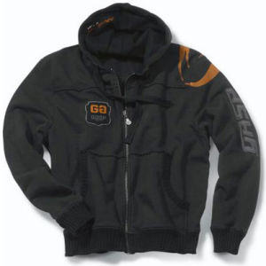 GASP Gym Hood Jacket - Black