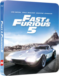 Fast Five - Zavvi Exclusive Limited Edition Steelbook (Limited to 2000 Copies and Includes UltraViolet Copy)