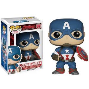 Figura Pop! Vinyl Bobble Head Marvel Vengadores: Era de Ultrón - Capitán América
