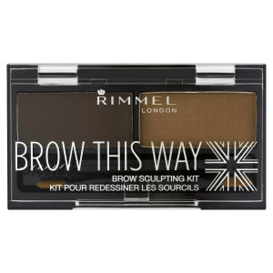 RimmelBrow This Way Kit sourcils - 003 Dark Brown