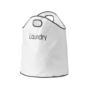 Premier Housewares Dual Handled Laundry Bag - White