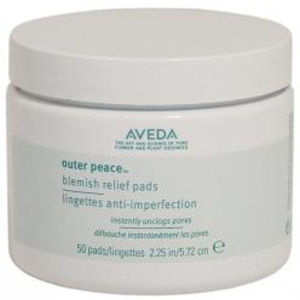 Lingettes anti-imperfection Aveda Outer Peace (50 Pads)