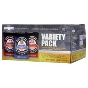 Mr Beer International Variety Homebrew Refills - 3 pack