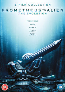Prometheus to Alien Evolution Box Set