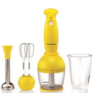 Morphy Richards Compliments Hand Blender Set - Yellow