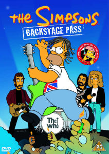 The Simpsons - Backstage Pass